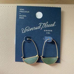 Universal Thread green earrings
